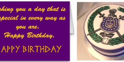 Psi Mu Mu Birthday card - DeSoto County